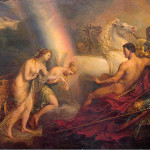 Iris (supporting Aphrodite in front of Ares)